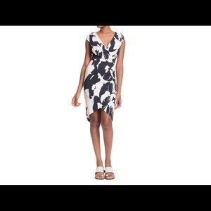Tracy Reese Asymmetric Surplice Dress